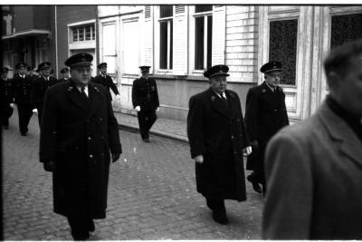 Groep met Gon aan kop, Izegem, 1957