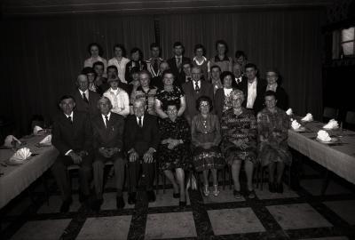 Diamanten huwelijksjubileum, Westrozebeke 1977