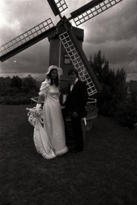 Huwelijk van Danny Bogaert, Moorslede juni 1977
