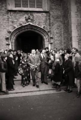Priesterwijding en eremis pater Paul Verhaeghe, Moorslede 1977