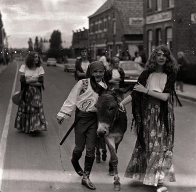 Folklorestoet Ieperstraat, Moorslede september 1972