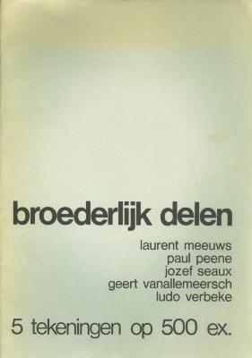 Pentekeningen tvv Broederlijk Delen, Roeselare