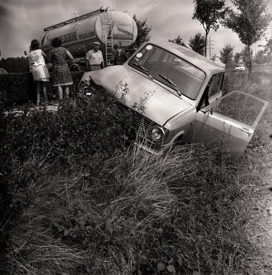 Ongeval met tankwagen, Westrozebeke augustus 1973