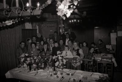 Kampioenviering vinkensport De Eendracht, Moorslede 1976