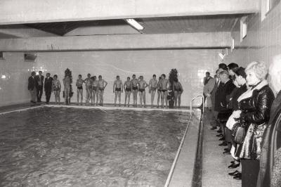 Zwemwedstrijd, Gullegem 1976