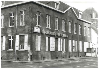 Gebouwen van de manufaktuur, Ingelmunster, omstreeks 1988.