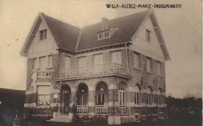 Villa Alexis-Marie, Gentstraat, Ingelmunster, ca 1910