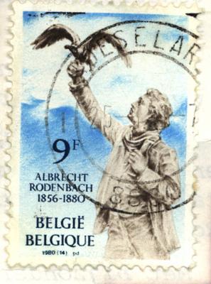 Postzegel Albrecht Rodenbach
