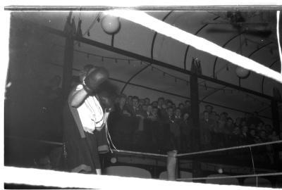 Bokswedstrijd Declerq-Six, Izegem 1957