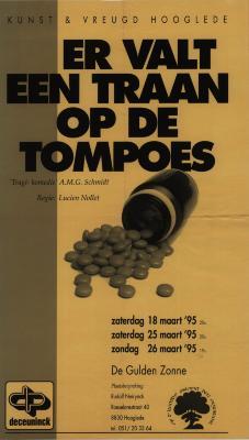 Toneelaffiches 1995