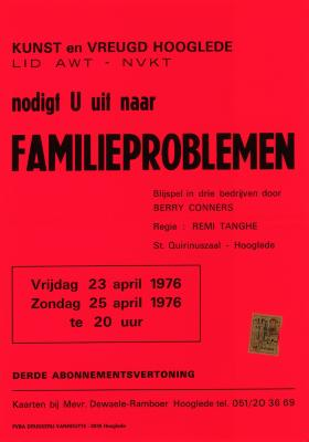 Toneelaffiches 1976