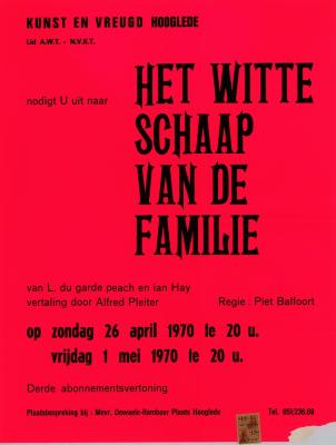 Toneelaffiches 1970