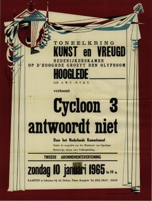 Toneelaffiches 1965