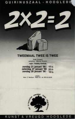 Toneelaffiches 1990