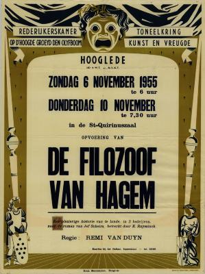 Toneelaffiches 1955