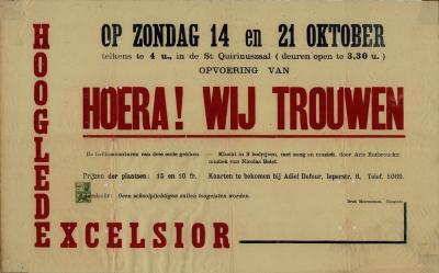 Toneelaffiches 1945