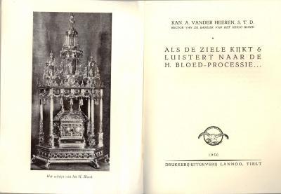 Leidraad voor de Heilig Bloedprocessie, Brugge