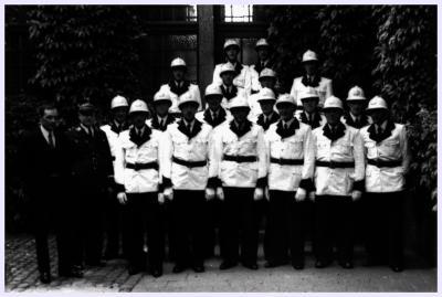 Groepsfoto Heilig Hartprocessie, 1949