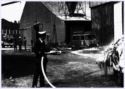 Brand bij Labeeuw, 1972