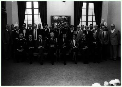 Uitreiking medailles, 1987