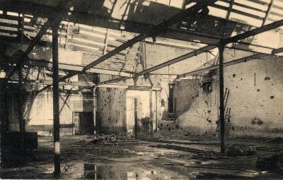 Voddenfabriek Constant Wyckhuyse in puin