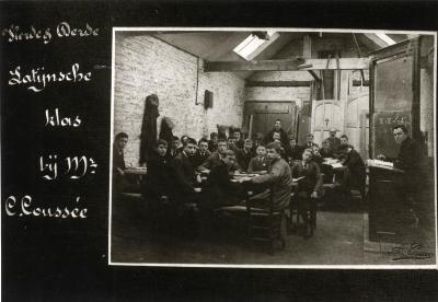 Derde en vierde Latijnse klas van het Klein Seminarie
