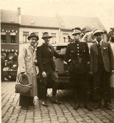 Bevrijding en repressie,  Izegem, 1944