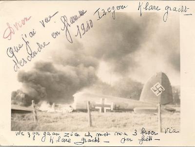 Wereldoorlog II,  Izegem, 1940