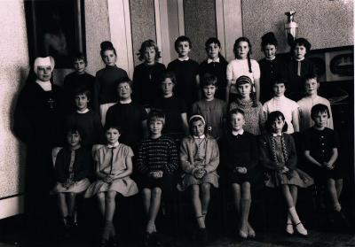 Klasfoto 1963, geboortejaar 1953, Gits