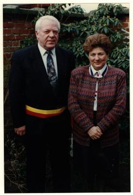 Burgemeester Willy Verledens, Izegem