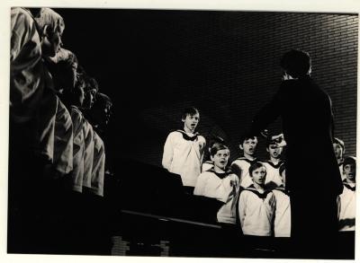 Bezoek Wiener zangerknapen in Izegem
