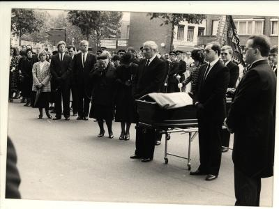 Begrafenis Staf Nijffels