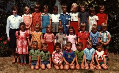 Derde kleuterklas, geboortejaar 1970, Gits