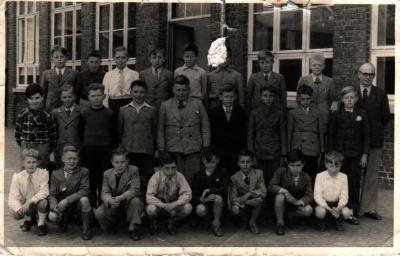 Klas geboortejaar 1940 en Meester Herman, Gits