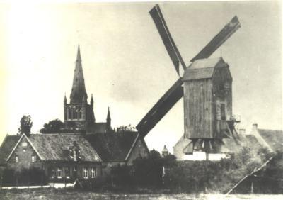 Molen en kerk, Dadizele