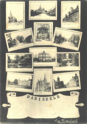 Collage verschillende foto's, Dadizele