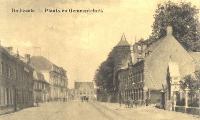 Centrum en gemeentehuis, Dadizele
