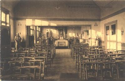 Interieur noodkerk, Slypskapelle
