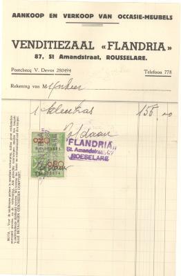 Factuur Flandria