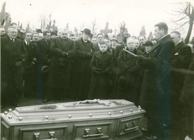 Begrafenis Jeroom Maselis, Roeselare , 1937