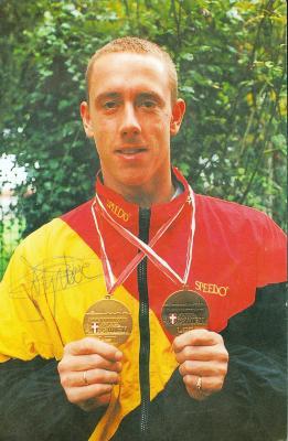 zwemmer Frederik Deburghgraeve, Roeselare