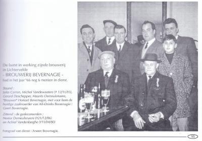 Derde generatie: Honoré en Arseen Bevernagie, drankenhandel Bevernagie, Lichtervelde