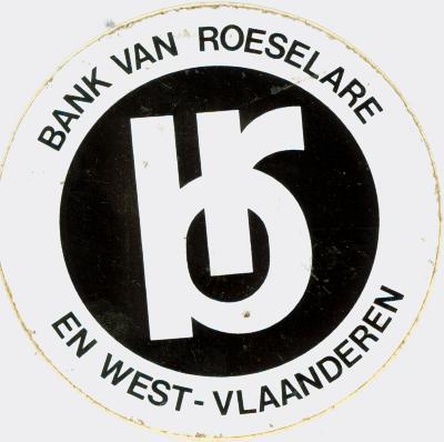 Sticker Bank van Roeselare en West-Vlaanderen, Roeselare