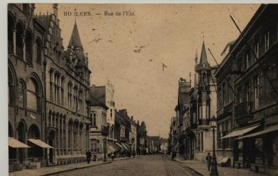 Postkaart van Ooststraat te Roeselare