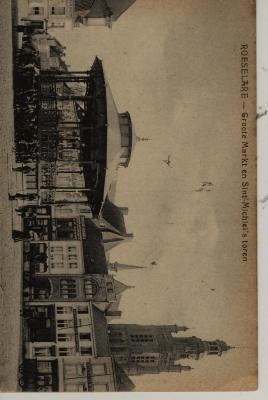 Postkaart Grote Markt Roeselare