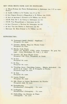 Catalogus 'Tentoonstelling van kristelijke kunst uit Oost-Europa, vooral ikonen' van 13 tot 28 januari 1962 in het stadhuis van Roeselare. Deel 2