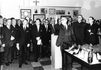 Foto opening schoenmuseum Izegem.
