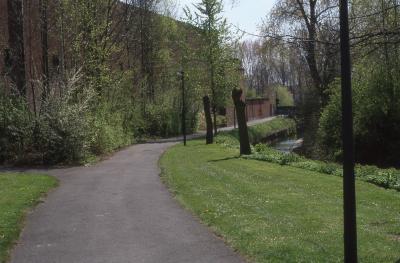 Fietspad langs Mandelbeek, 1997