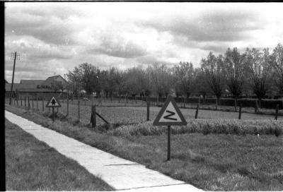 Landschap aan Het Lindeken, Izegem 1957