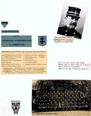 Fotoalbum Brandweer 1900-1937, 1940-1946 en 1949-1961